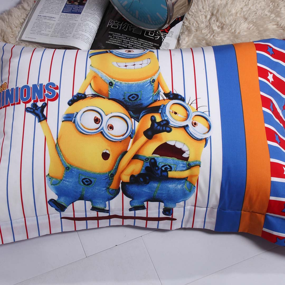one in a minion bedding set pillow case