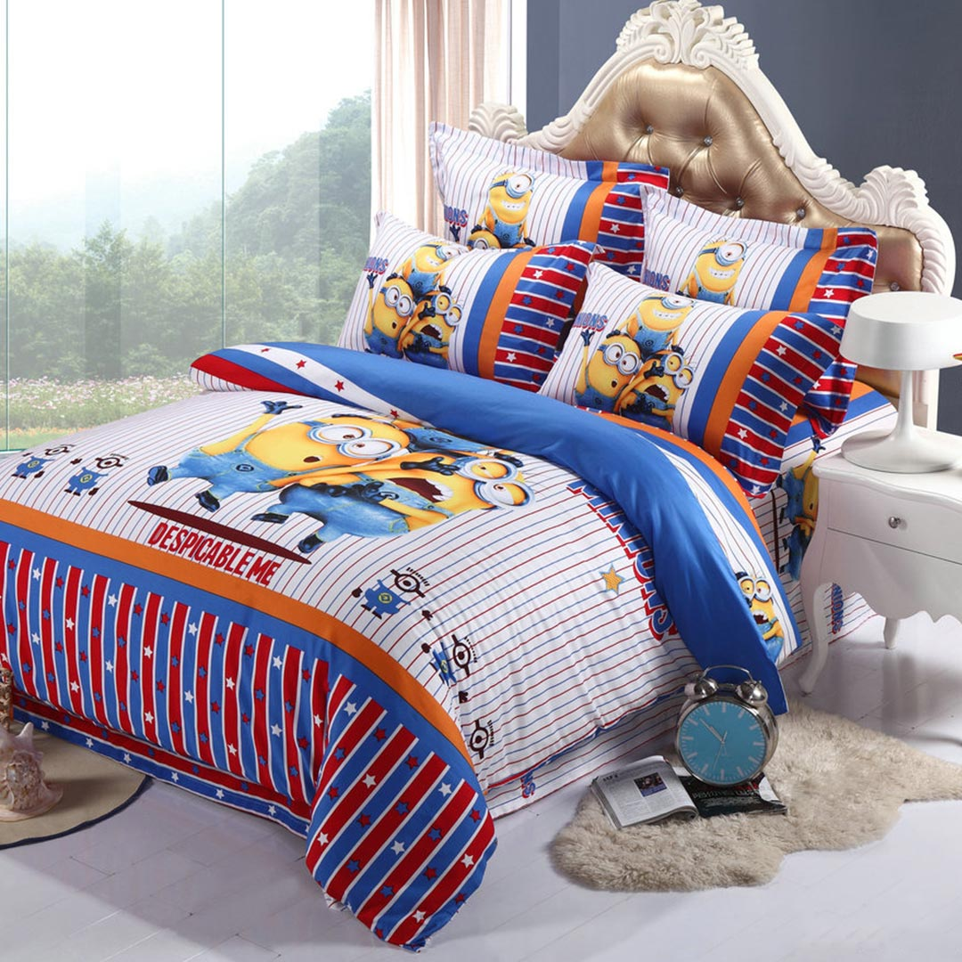 one in a minion bedding set