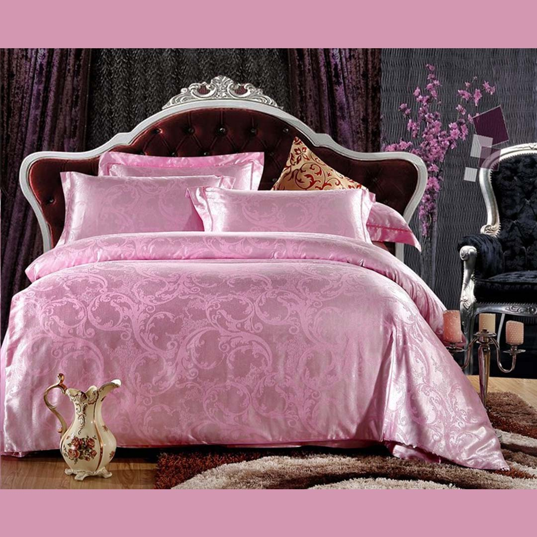 light pink bedding set queen full king size ebeddingsets. Black Bedroom Furniture Sets. Home Design Ideas