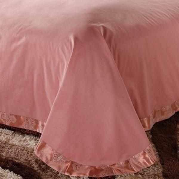 Luxury Jacquard Comforter Set flat sheet