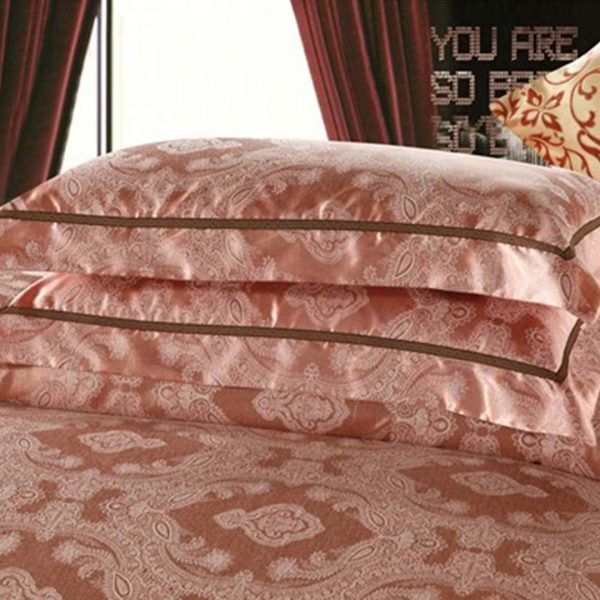 Luxury Jacquard Comforter Set pillow cases