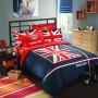 British flag bedding set