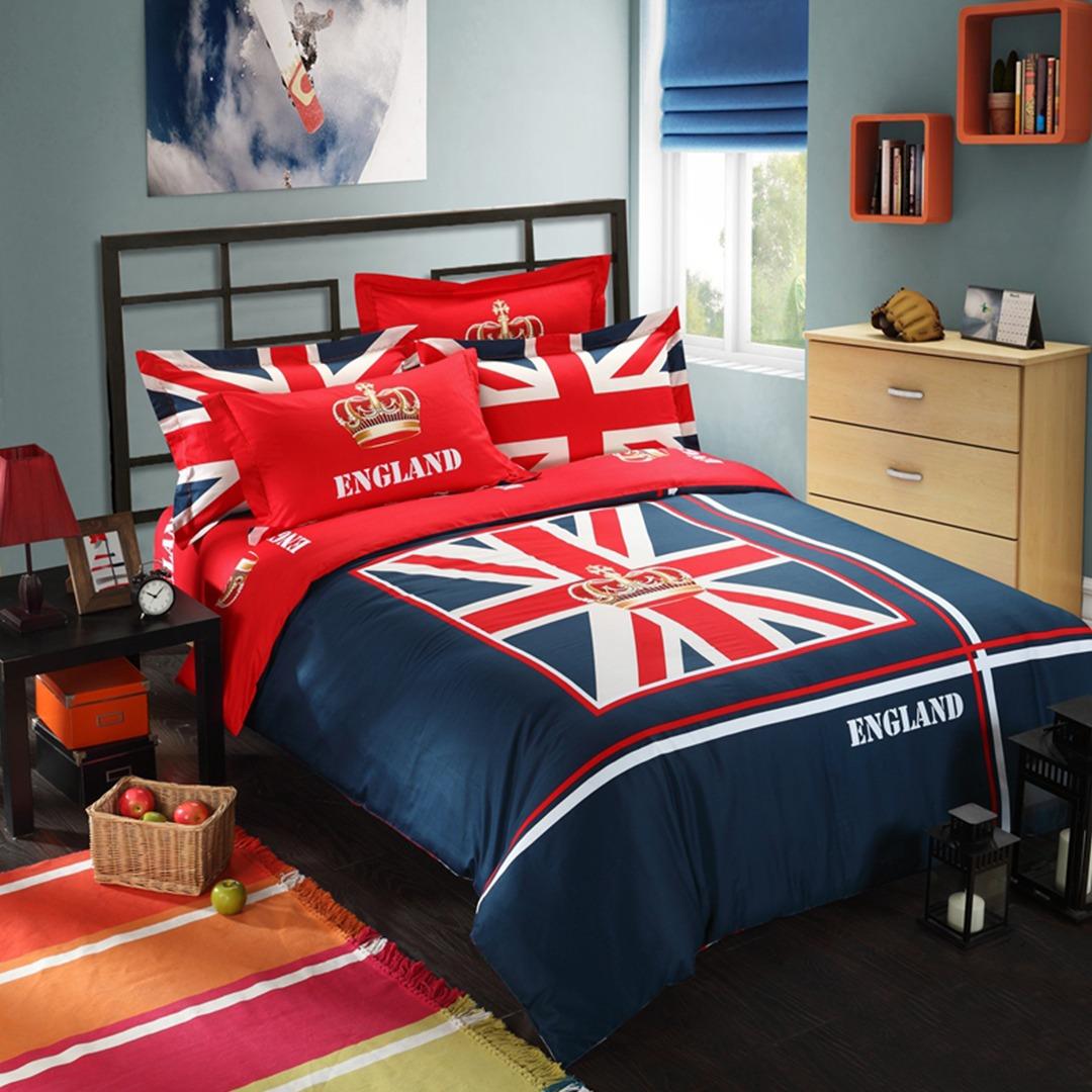 British Flag Bedding Set Queen Size Ebeddingsets