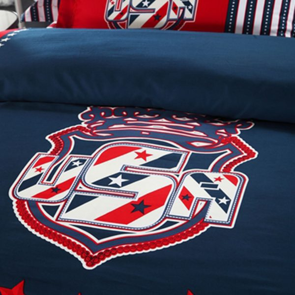 American flag bedding set comforter
