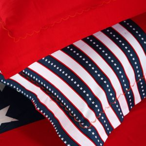 American flag bedding set pillow