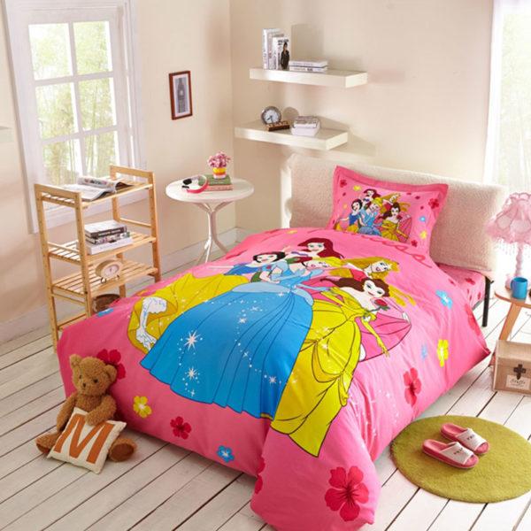 Disney princess bedding set queen size