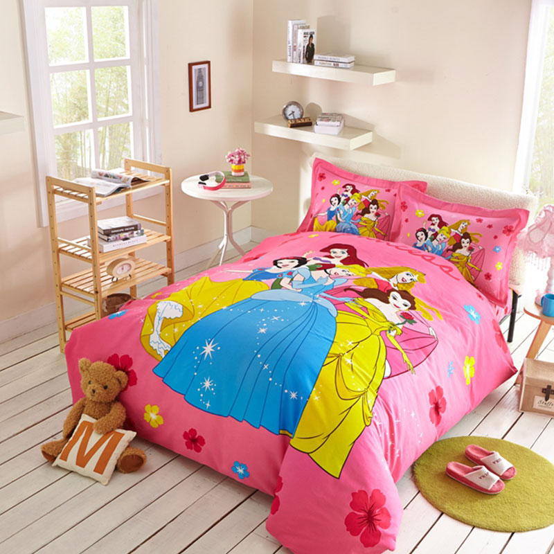 girls disney princess bedding set ebeddingsets. Black Bedroom Furniture Sets. Home Design Ideas