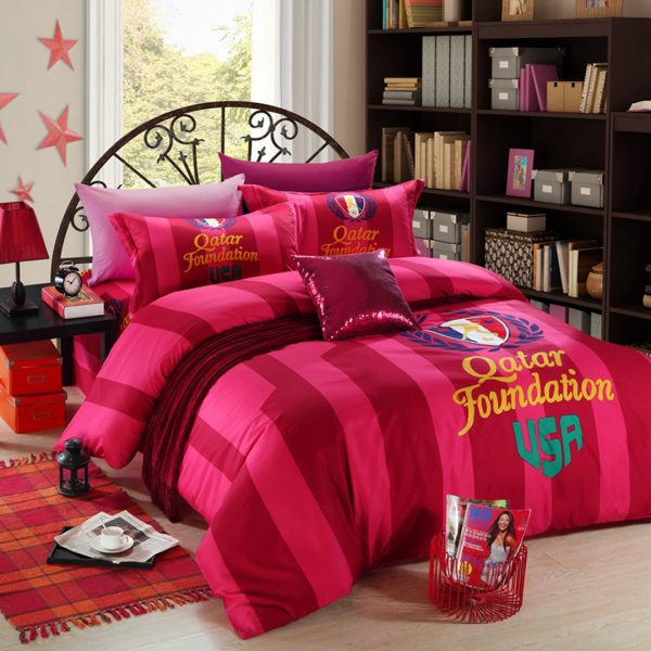 USA Tennis Qatar Foundation bedding set