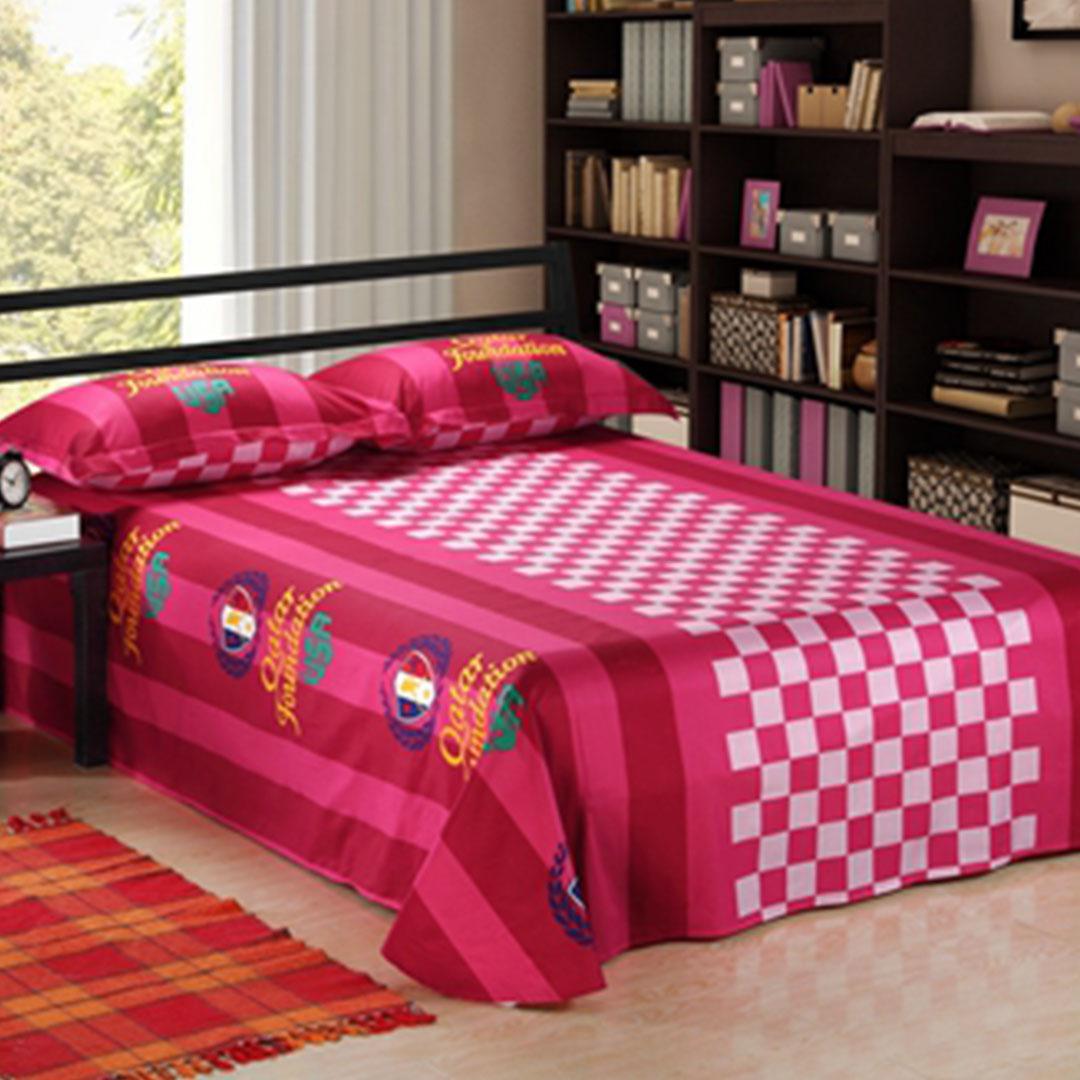USA Tennis Qatar Foundation bedding set flat sheet