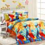 5pcs elegant style colorful cats bedding set