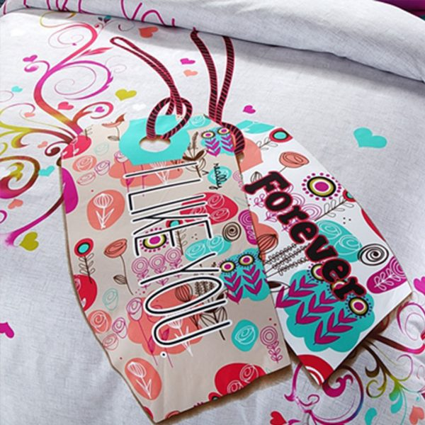I like you forever floral bedding set 4 600x600 - I like you forever floral bedding set