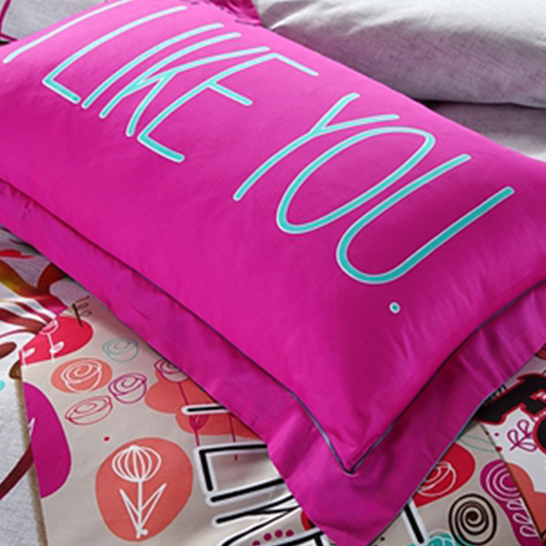 Buyer Protection: I Like You Forever Floral Bedding Set