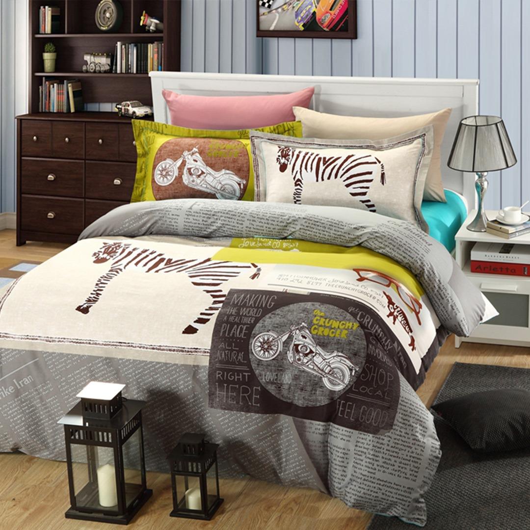 The Crunchy Grocer Zebra Print Bedding Set Ebeddingsets