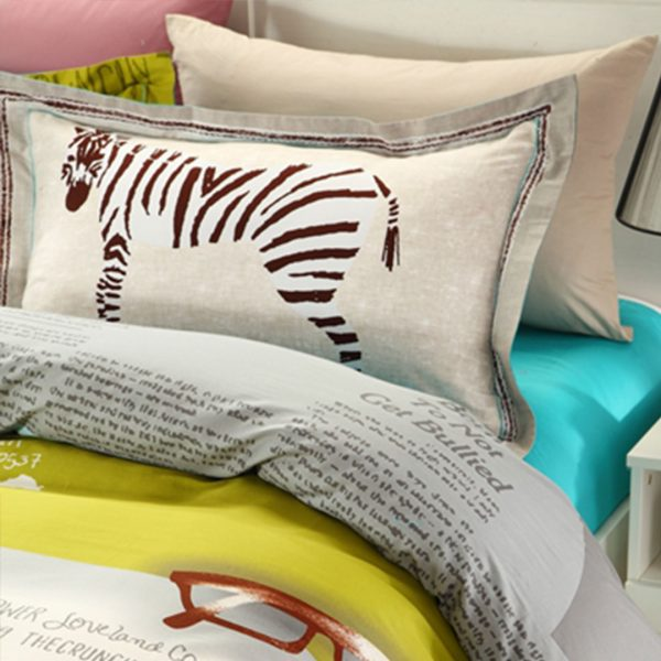 The crunchy grocer Zebra print bedding set 4 600x600 - The crunchy grocer Zebra print bedding set