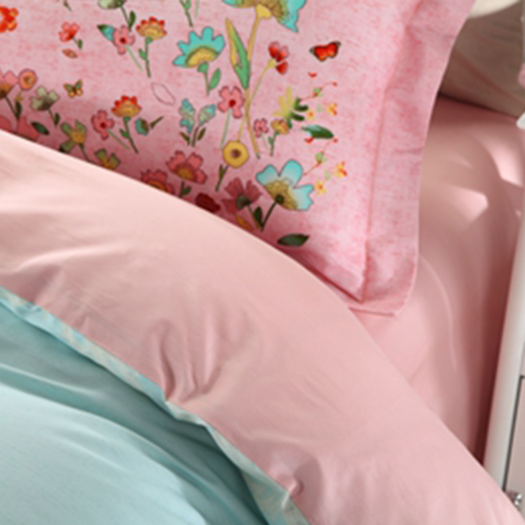Two color shades of beautiful floral bedding set 5 - About