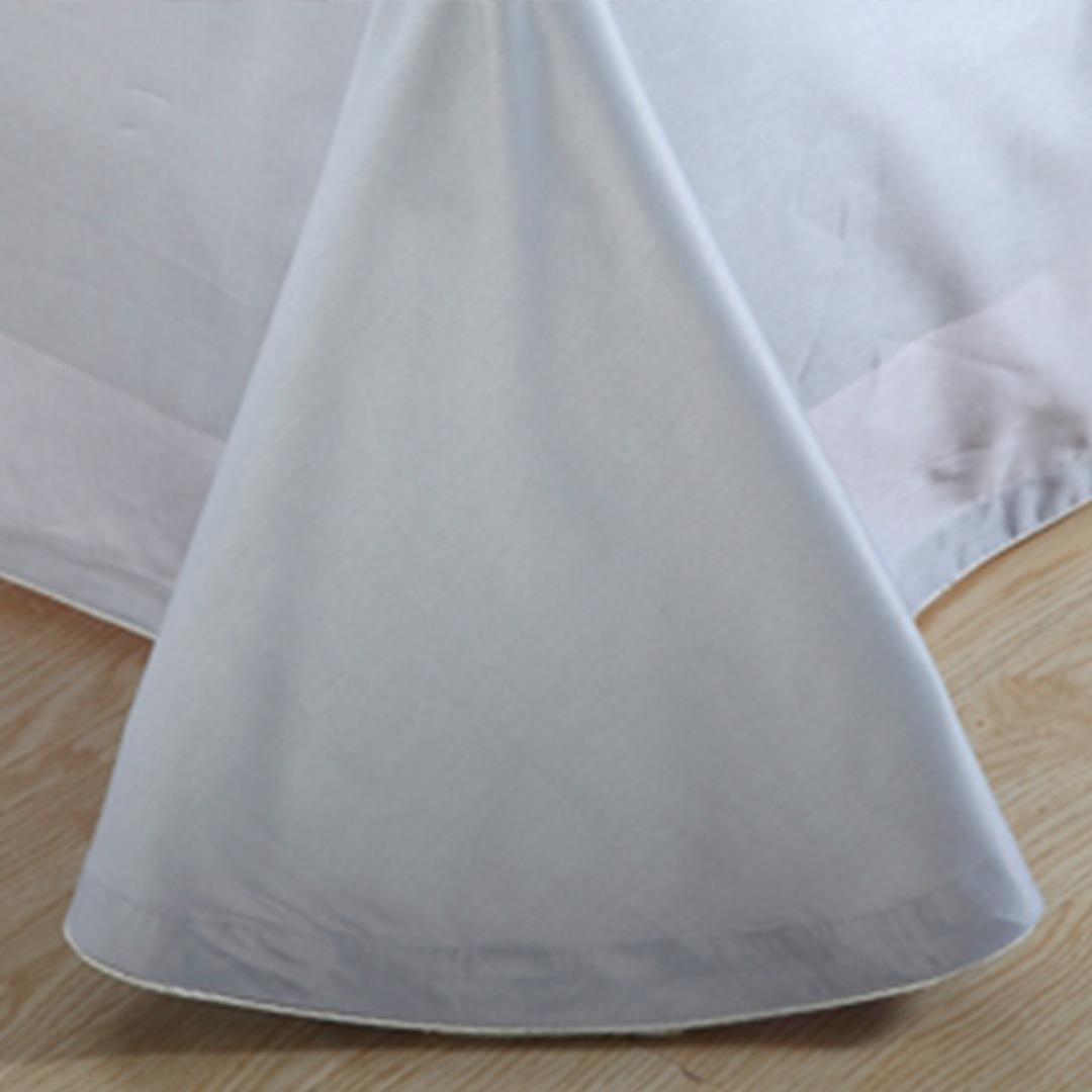 White And Ash Color Elegant Bedding Set Ebeddingsets