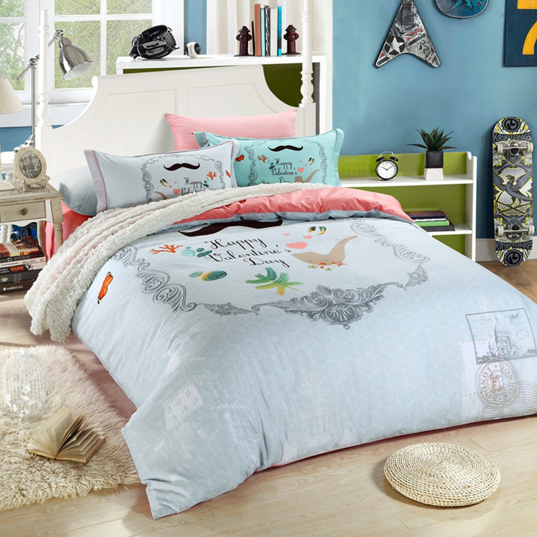 Happy Valentine Day Bedding Set Ebeddingsets