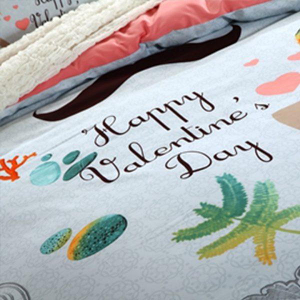 happy valentine day bedding set 3 600x600 - happy valentine day bedding set