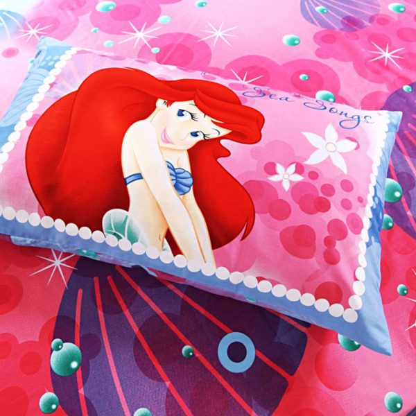 Ariel princess bedding twin size 4pcs set3 600x600 - Ariel princess bedding set twin size