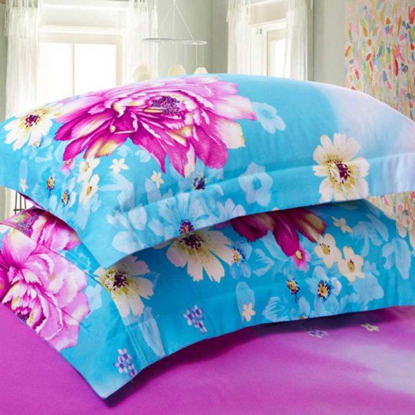 Blue Rose Design Duvet Cover Sets