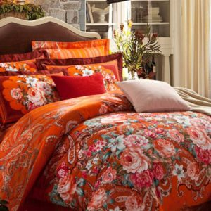 Brushed Luxury Floral Bed Set