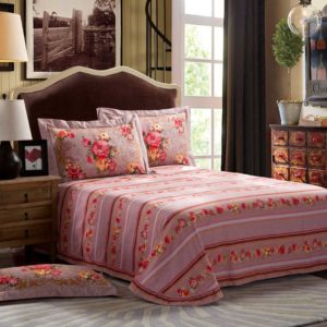 Classic Floral Print Bedding Sets