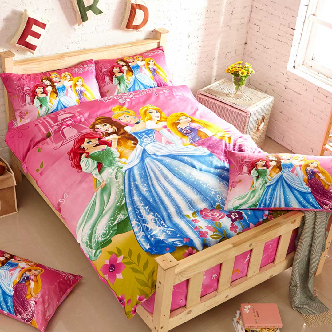 Girls Disney Princess Bedding Set. Girls Disney Princess Bedding Set   EBeddingSets