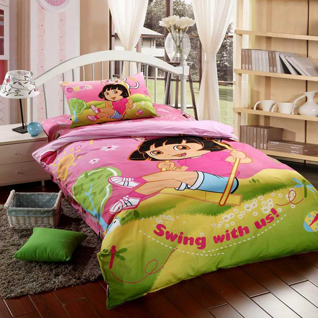 Dora Bedding Set Twin Size Ebeddingsets