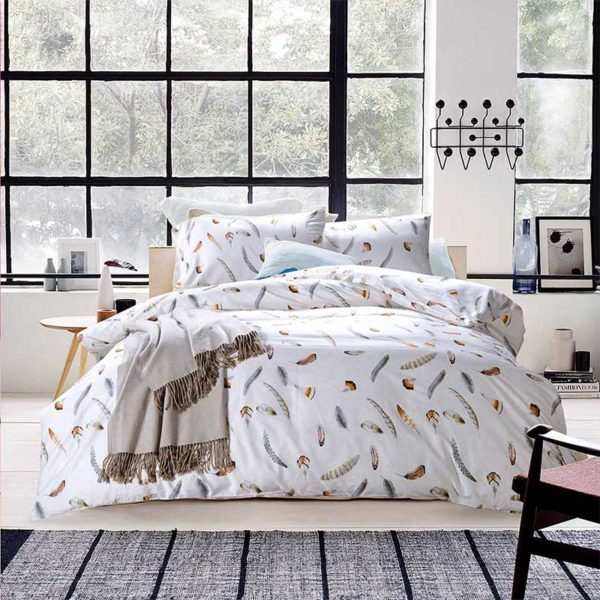 Feather Design Duvet Cover Sets