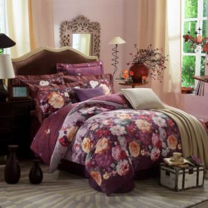 Floral Pattern Design Duvet Cover Sets