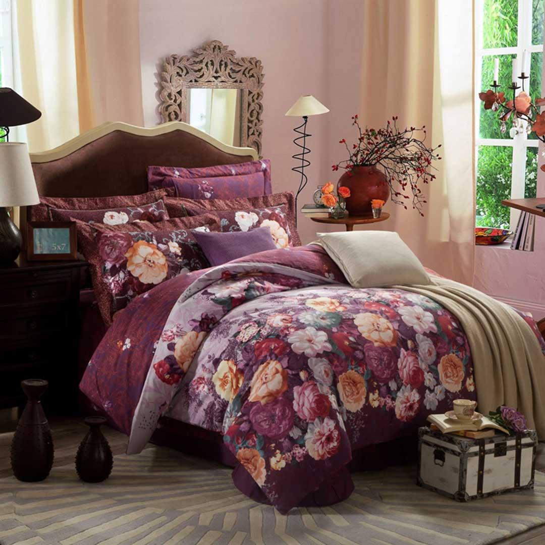 Floral Pattern Design Duvet Cover Sets | EBeddingSets
