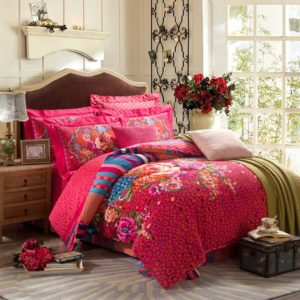Floral Printed Design Bed Sets