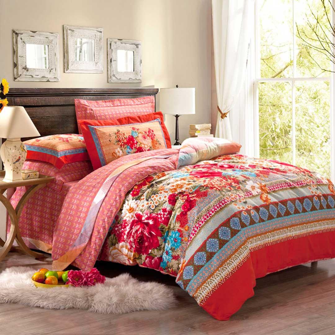 Floral Vector Luxury Bedding Set