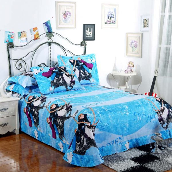 Frozen Bed flat sheet
