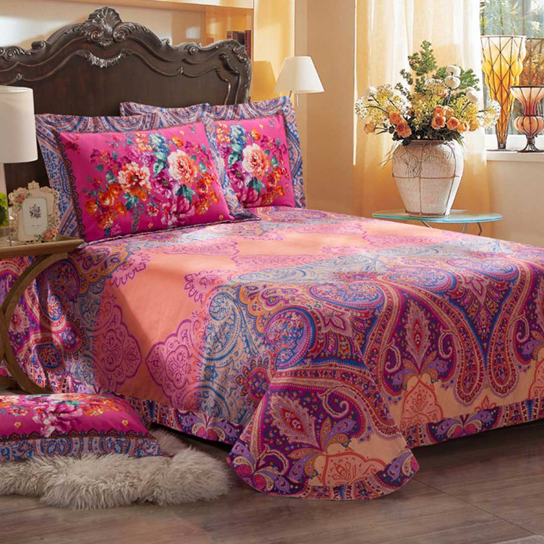 Hot Sale Flower Design Bed Sets