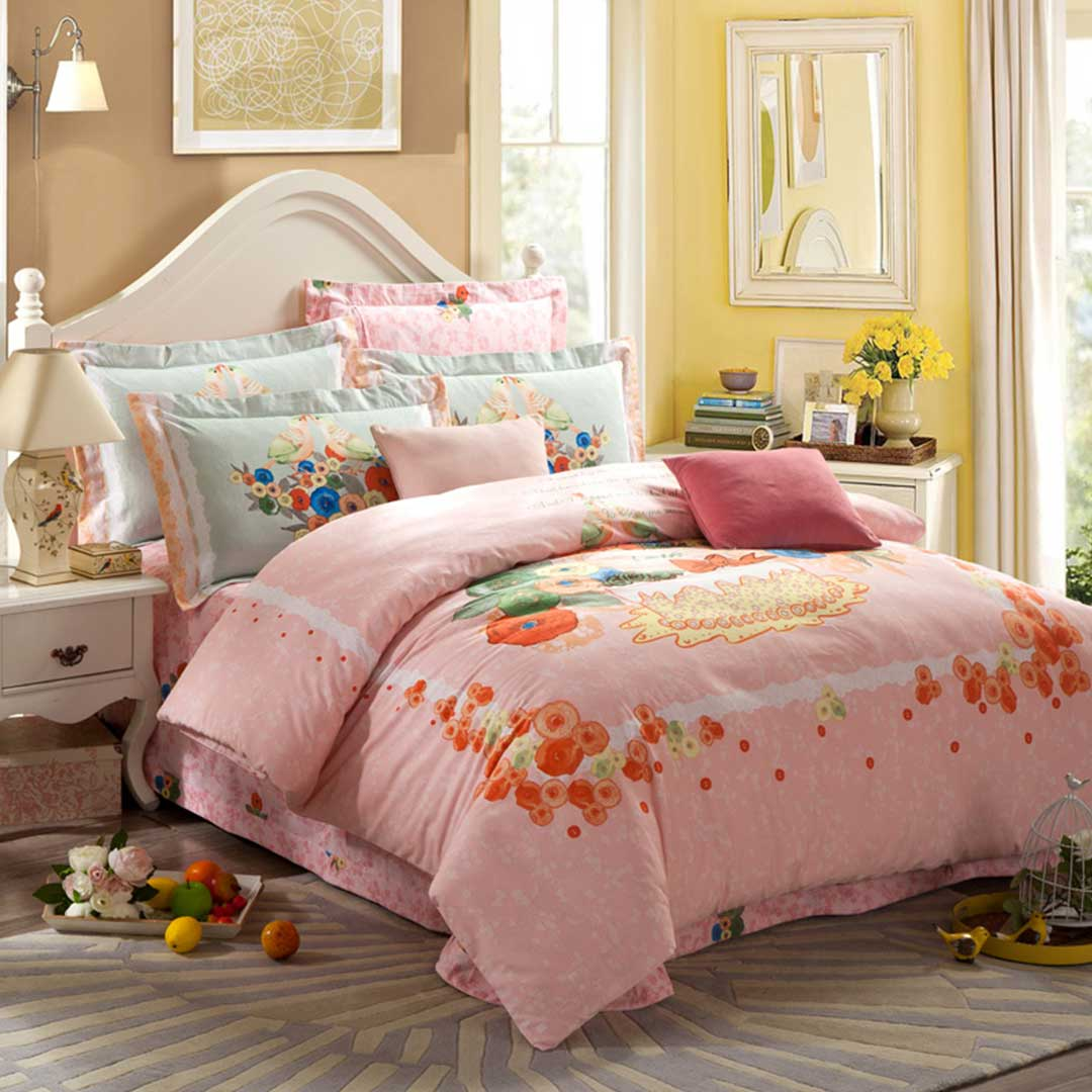 light pink design birthday duvet cover sets ebeddingsets. Black Bedroom Furniture Sets. Home Design Ideas