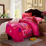 Pink Classic Floral Bedding Set