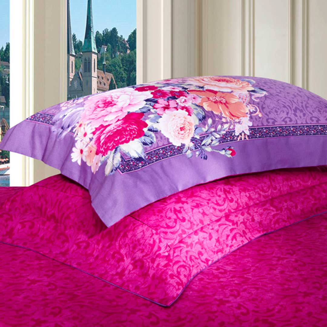 Our collection of pink duvet covers comes in a variety of different sizes. We carry covers for duvets fitting single beds, those for super king sizes and everything in between the two. You'll love both the high quality and low prices of our collection.