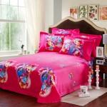 Pink Rose Print Comforter Sets