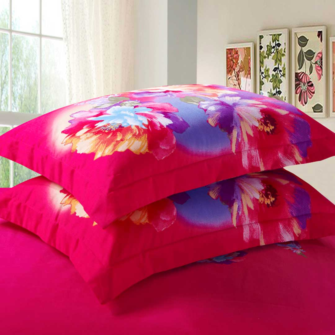 Pink Rose Print Comforter Sets Ebeddingsets