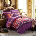 Purple Base Vector Bedding Sets