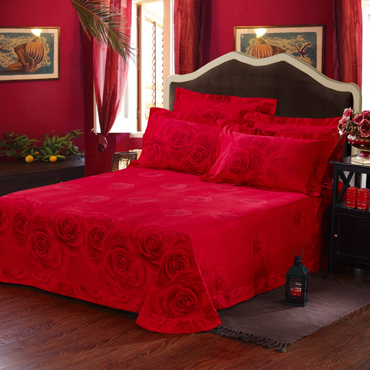 red rose printed romantic bedding sets ebeddingsets - Romantic Bed Sets