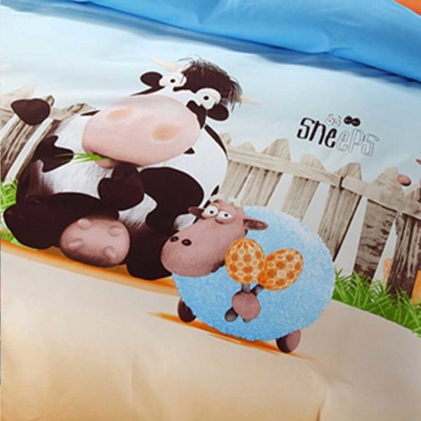 Sheep Design Comforter Set