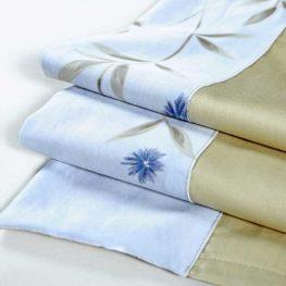 Single Flower Print Comforter Sets