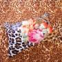 Tiger Coat Classic Floral Comforter Set