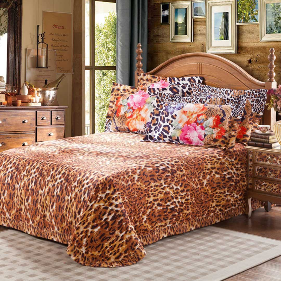 Tiger Coat Classic Floral Comforter Set Ebeddingsets