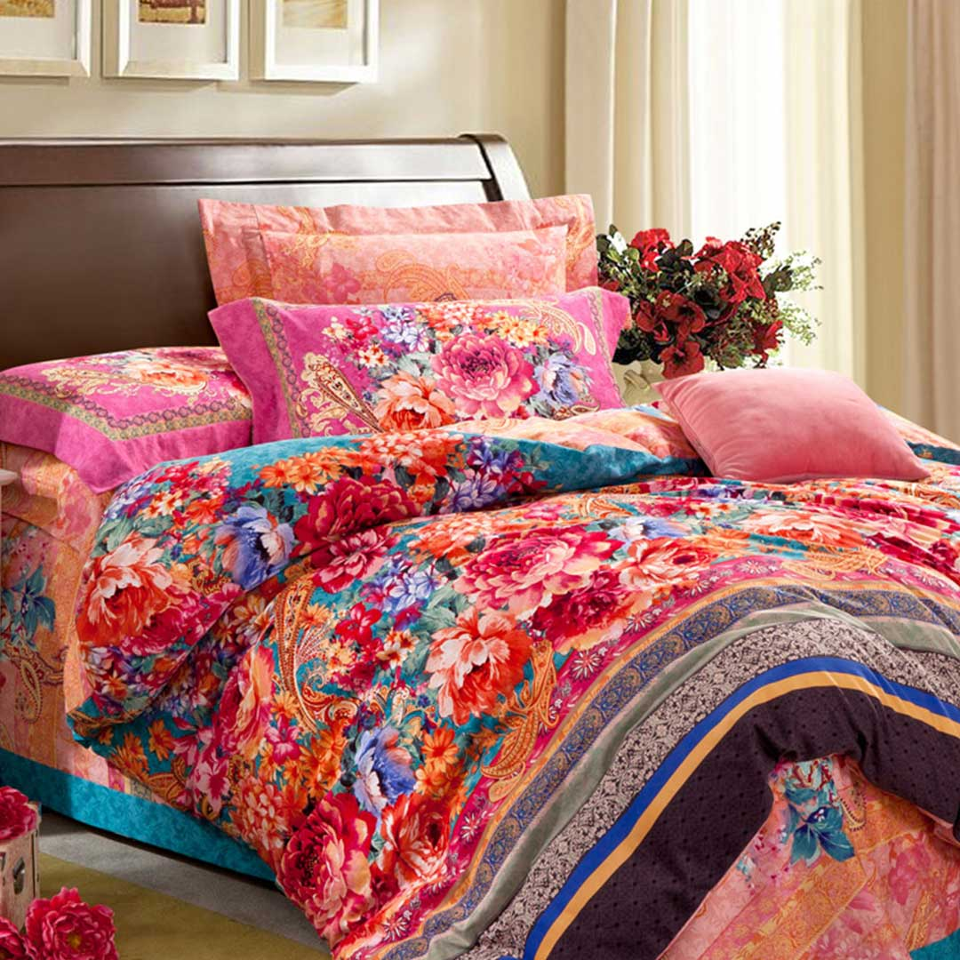 Vector base luxury comforter set ebeddingsets for Luxury cotton comforter sets