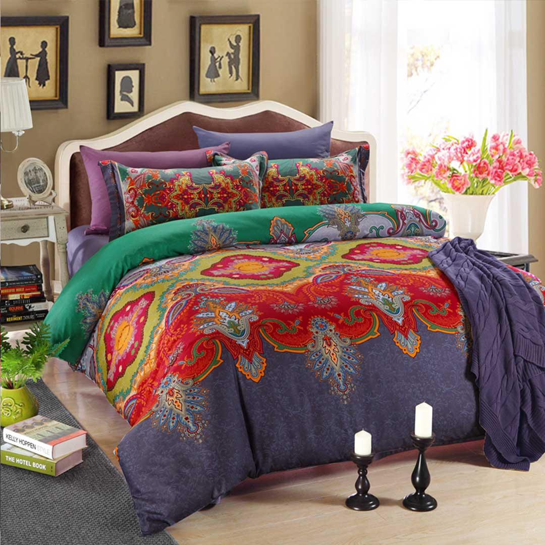 New Floral Classic Style Bedding Set