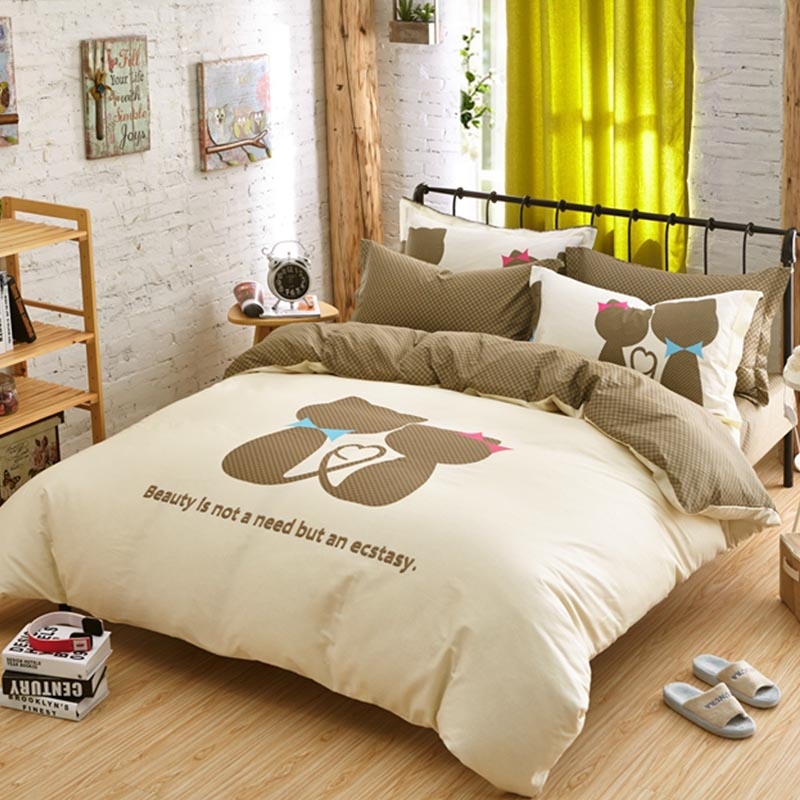 Cat Love Bedding Set Queen Size Ebeddingsets