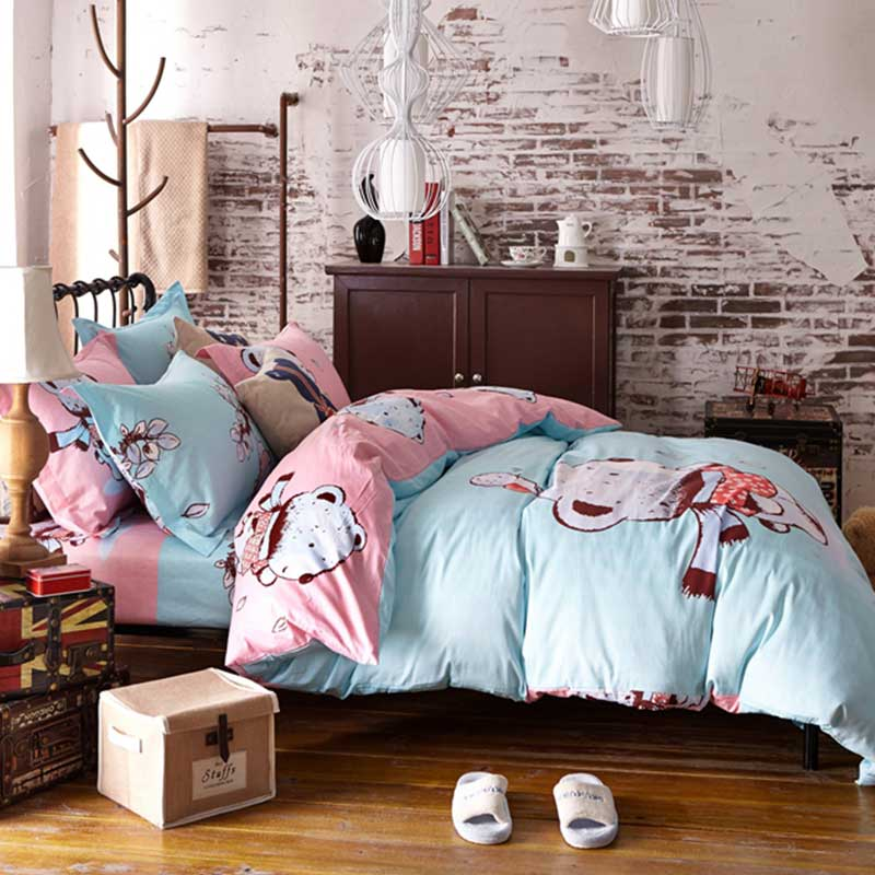 Cute Bear Bedding Set Queen Size Ebeddingsets